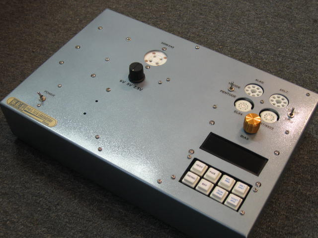 Digital Tube Tester : Space tech lab easy tube tester v advance digital