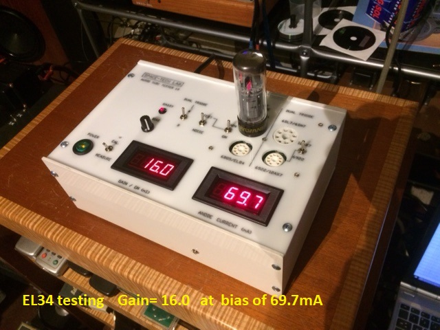 Digital Tube Tester : Space tech laboratory high end audio